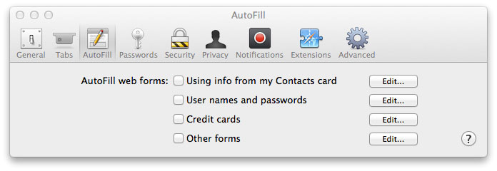 Safari Wants to Use Your Confidential Information Stored