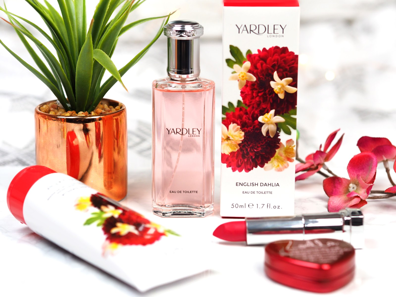 Yardley London English Dahlia Eau de Toilette Review