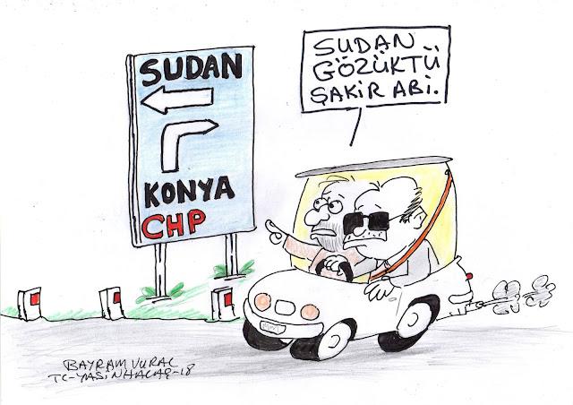 sudan erdoğan karikatürü