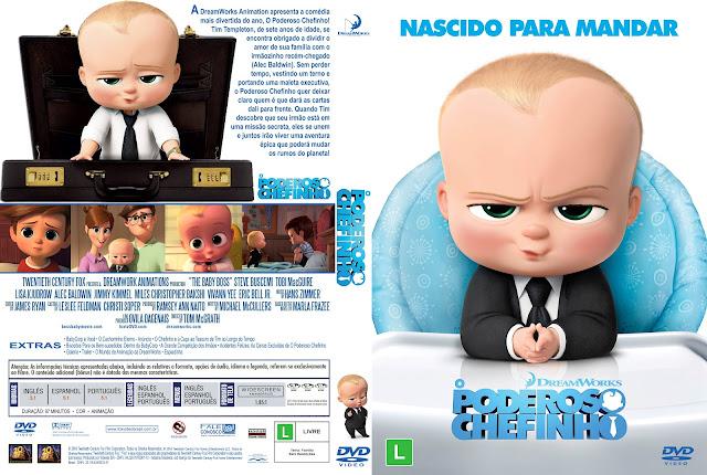 Capa DVD O Poderoso Chefinho [Exclusiva]