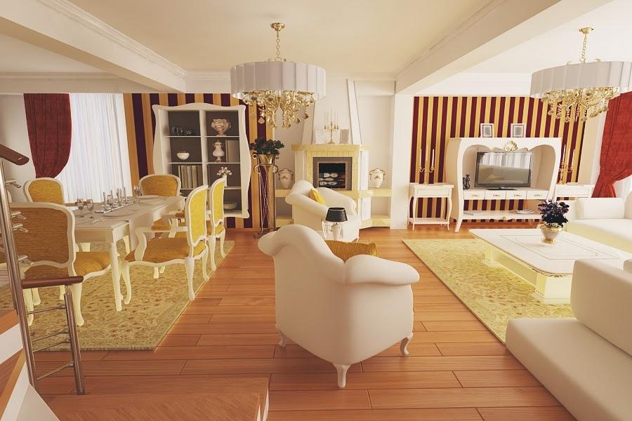 Design interior case apartamente Constanta - Amenajari interioare hoteluri restaurante