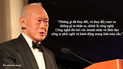 13 triết lý để đời của ông Lý Quang Diệu
