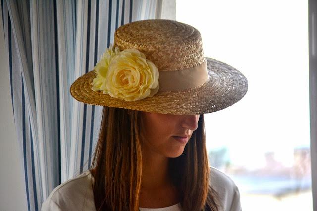 canotier boda diy moda