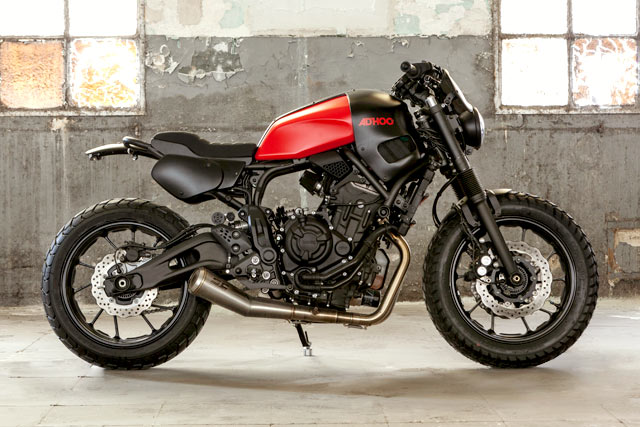 garage italiano yamaha xsr 700 hansamu by ad hoc caf racer. Black Bedroom Furniture Sets. Home Design Ideas