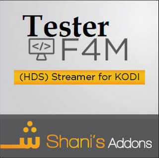 How To Install F4mTester Kodi Addon