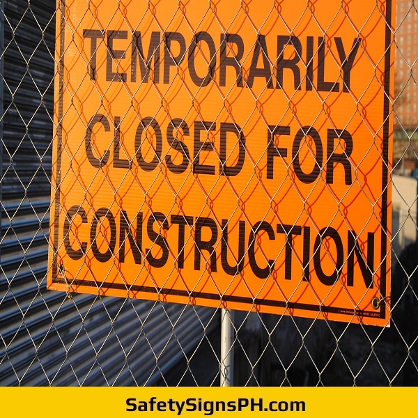 Closed For Construction Sign Philippines