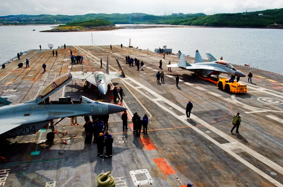 MiG-29KUB Sayap Baru Admiral Kuznetsov