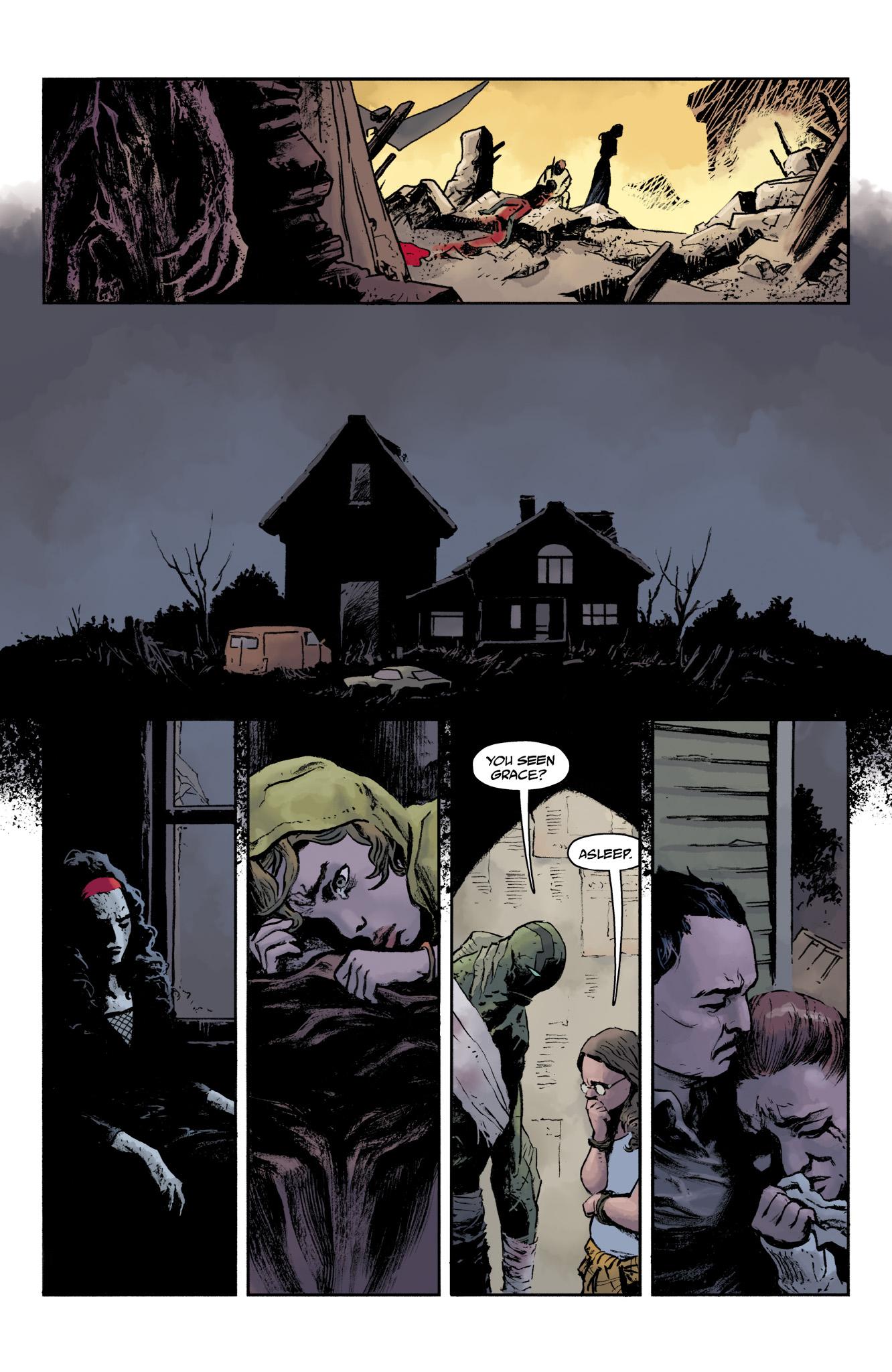 Read online Abe Sapien comic -  Issue #19 - 22