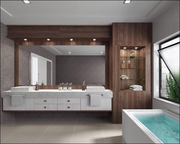 decoração banheiro sob medida