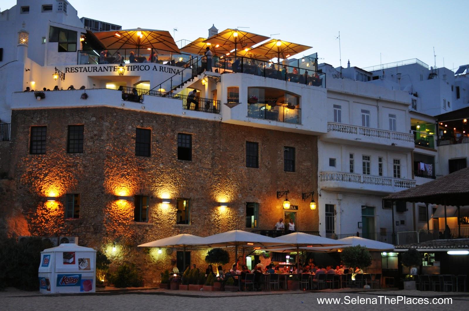 Restaurant Old Town Albufeira Algarve Portugal