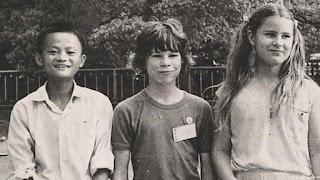 jack ma childhood photo