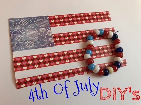 Quick and Easy 4th Of July DIY Crafts!