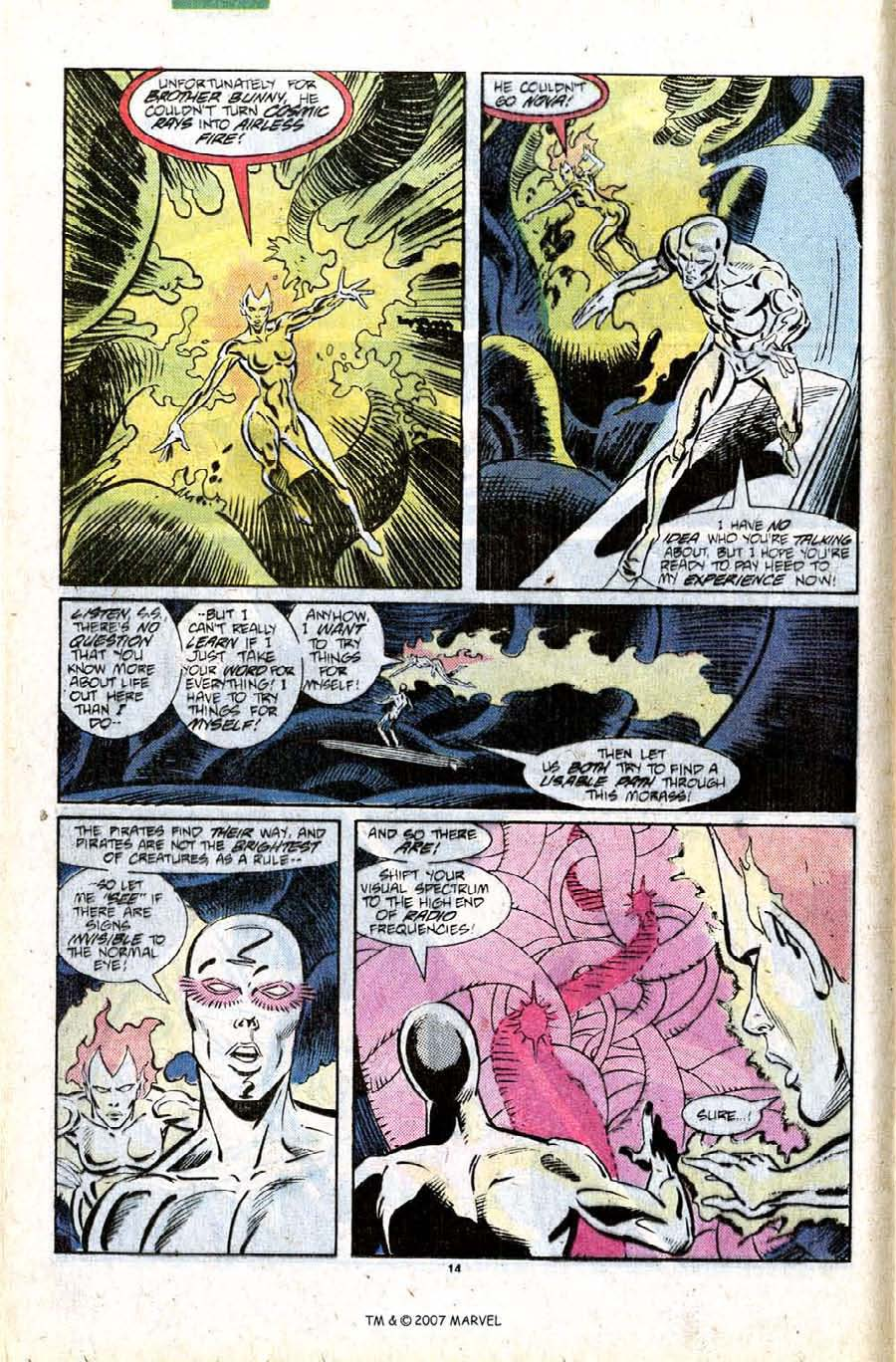Read online Silver Surfer (1987) comic -  Issue #11 - 16