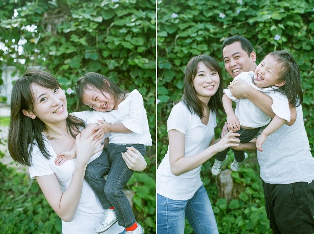 台北戶外寶貝全家福兒童攝影日系寫真推薦拍照