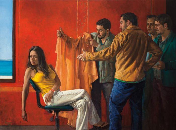 Колумбийский художник-самоучка. Dario Ortiz