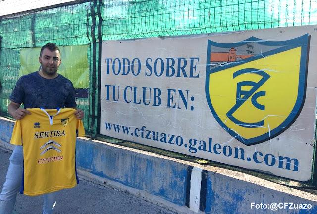 Fútbol | Alain Alonso seguirá una temporada más al frente del Zuazo tras subir a Primera Regional