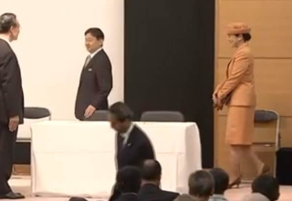 Emperor Naruhito and Empress Masako attended the 60th Convention of Nikkei and Japanese Abroad at Constitution Memorial Hall