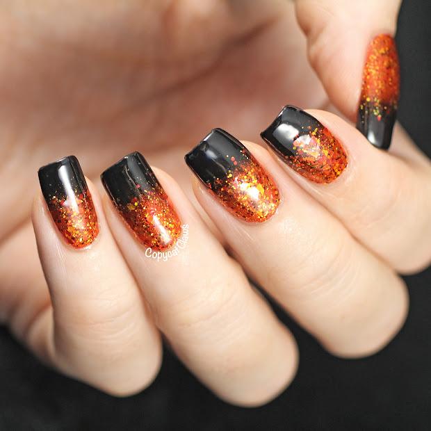 copycat claws halloween gradient