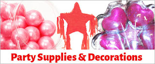 Party Supplies and decoration Ideas