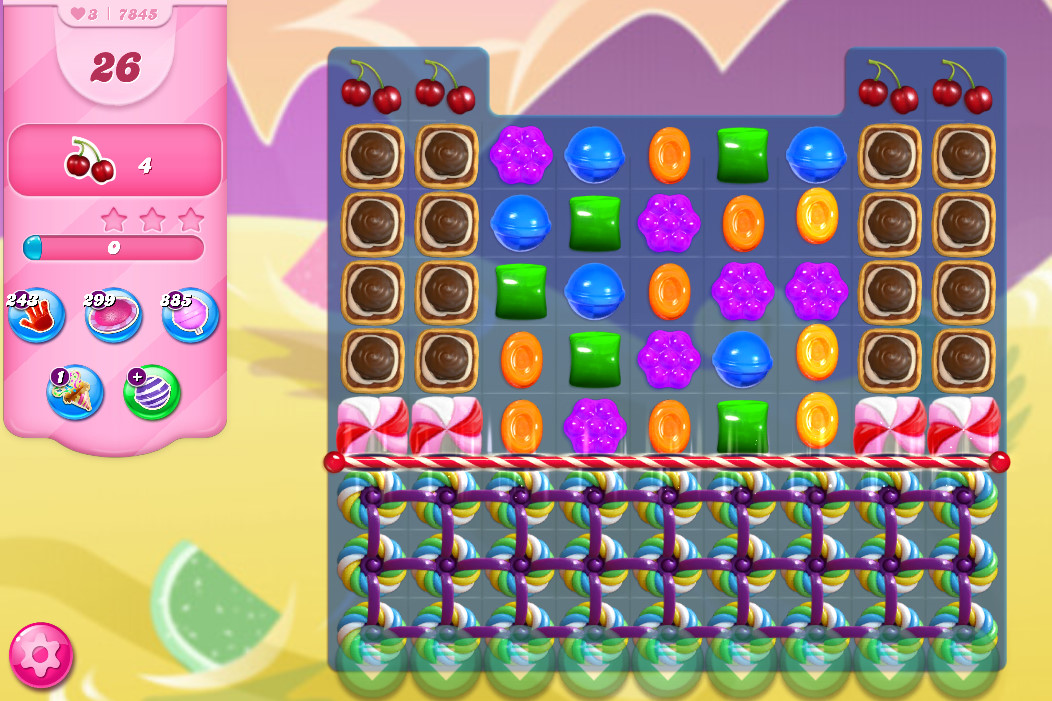 Candy Crush Saga level 7845