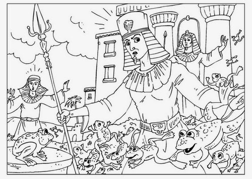 coloring pages for the ten plagues  coloring pages for kids