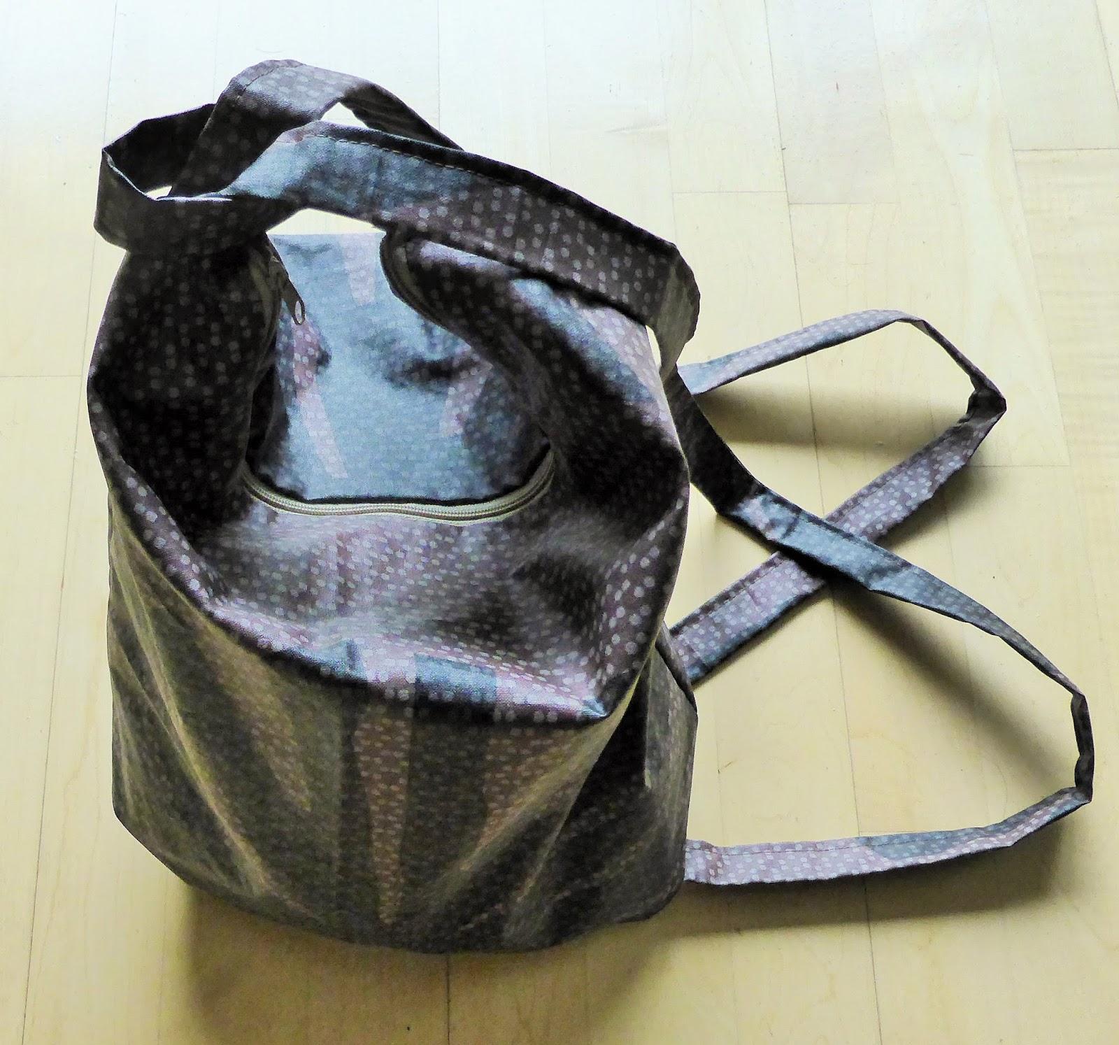 rucksack handtasche mit rei verschluss anleitung gratis schnittmuster und n hanleitungen zum. Black Bedroom Furniture Sets. Home Design Ideas