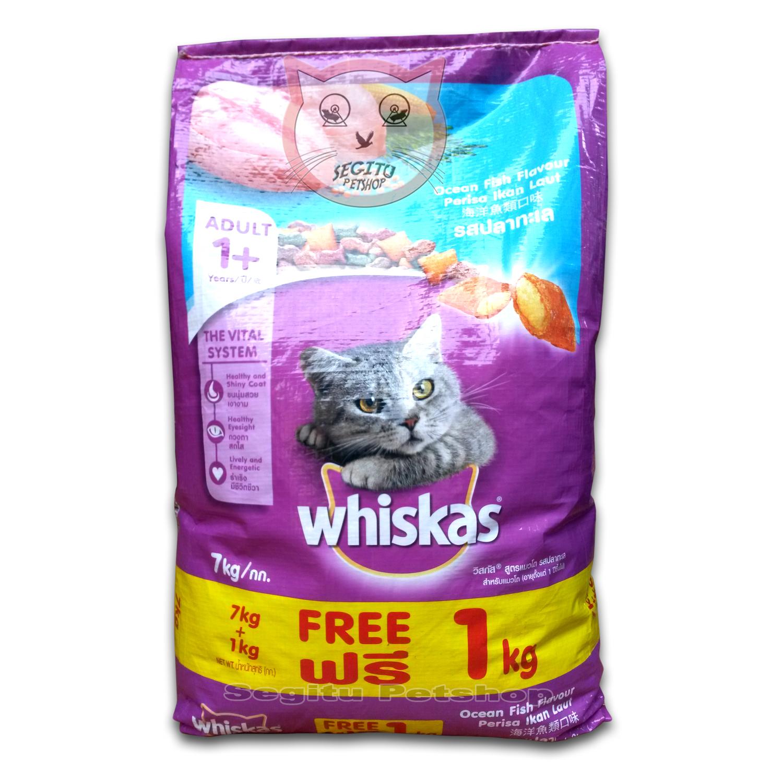 Makanan Kucing Whiskas Segitu Petshop