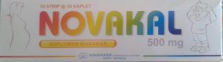 Novakal : Kalsium Laktat 500 mg