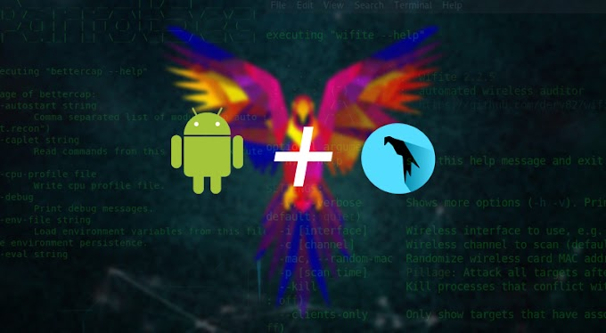 Install Parrot Sec OS di Android