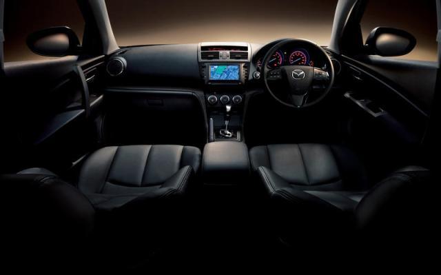 Mazda Atenza Racer Interior