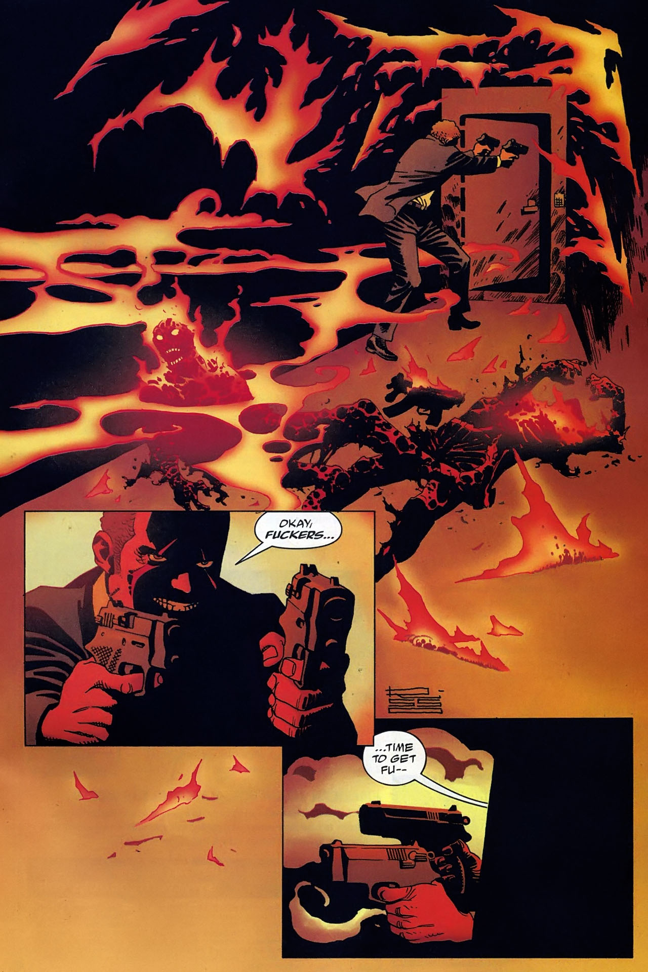 Read online 100 Bullets comic -  Issue #93 - 21