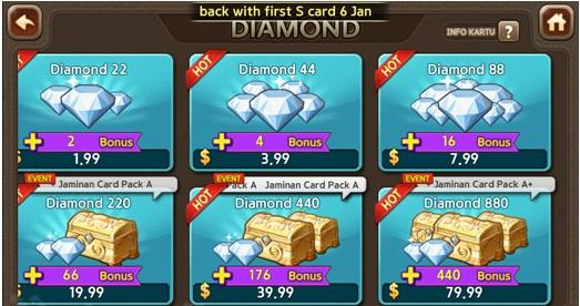100 Free Cara Dapat 10 000 Diamond Line Lets Get Rich Gratis Terbaru