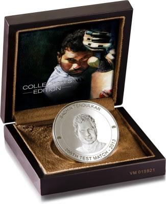 Buy Dil Sachin Tendulkar S 999 200 g Silver Coin Online at