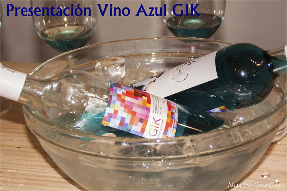 Presentación Vino Azul Gik