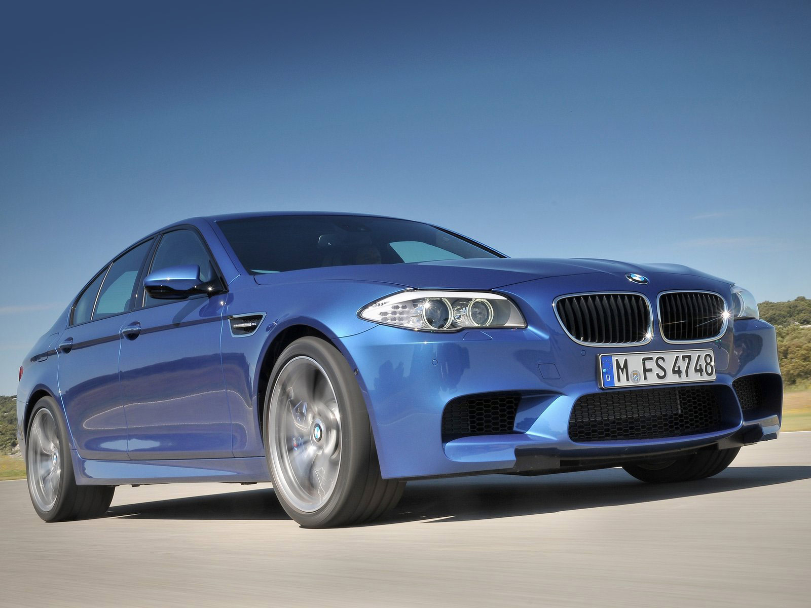 2012 BMW M5 Desktop Wallpapers. Accident lawyers info.
