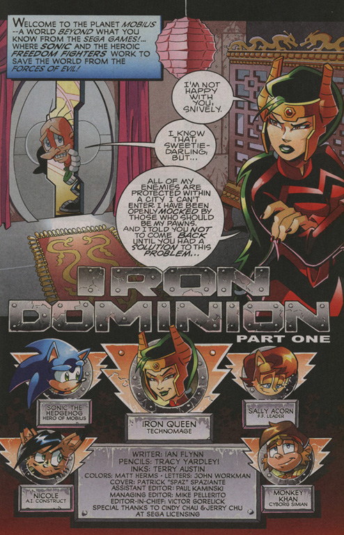 Read online Sonic The Hedgehog comic -  Issue #208 - 2