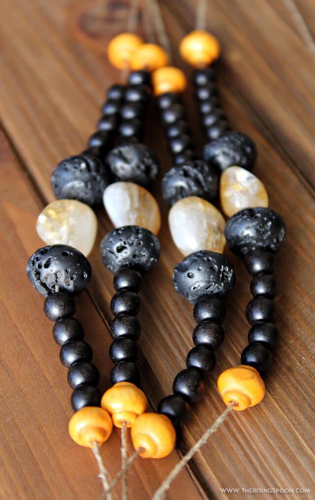 Diy Lava Rock Essential Oil Diffuser Bracelet The Rising