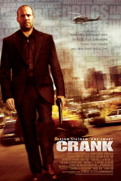 Poster of Crank 2006 UnRated 720p Hindi BRRip Dual Audio Full Movie Download