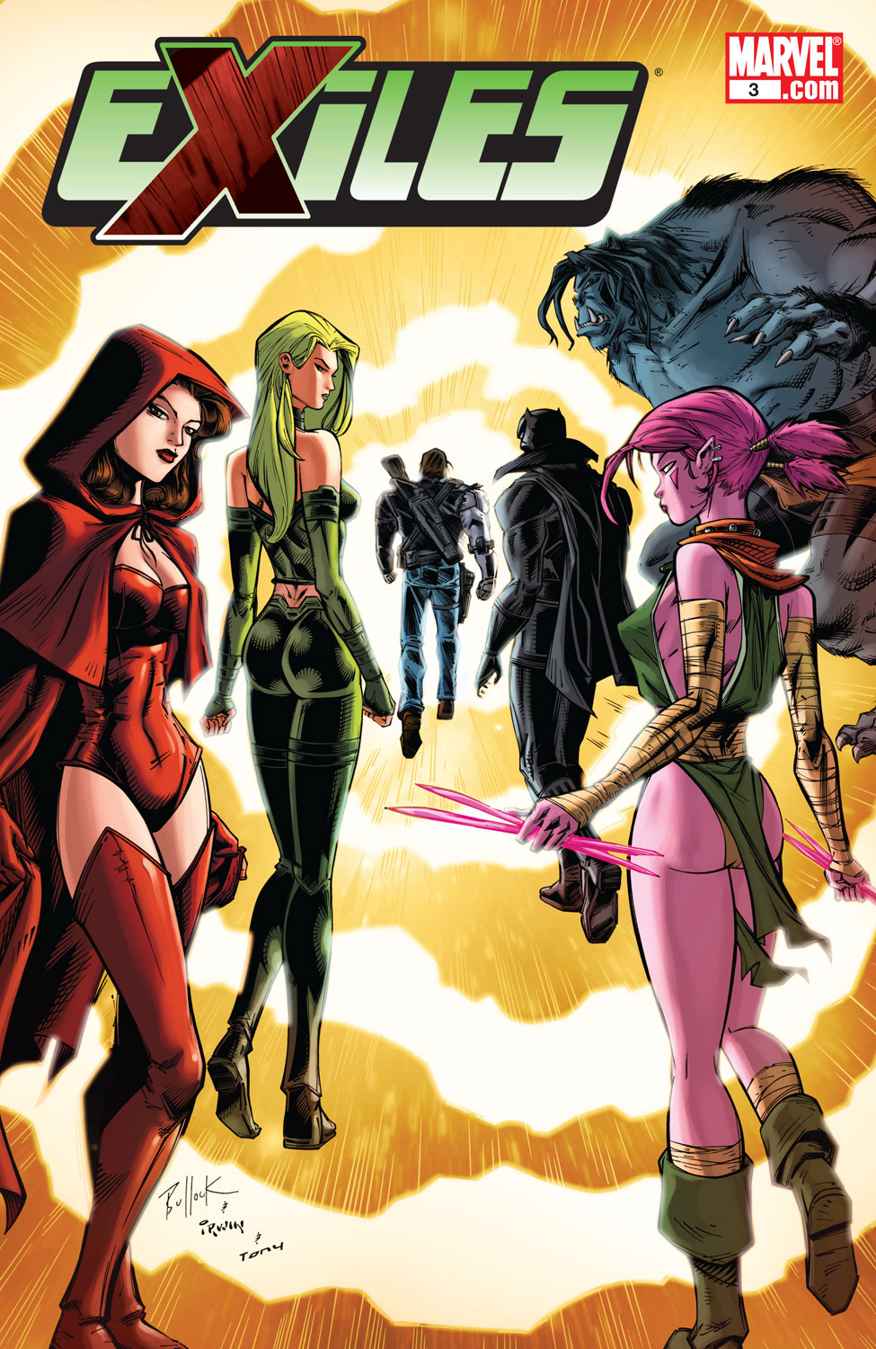 Read online Exiles (2009) comic -  Issue #3 - 1