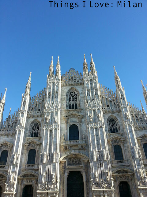 Things I love: Milan.