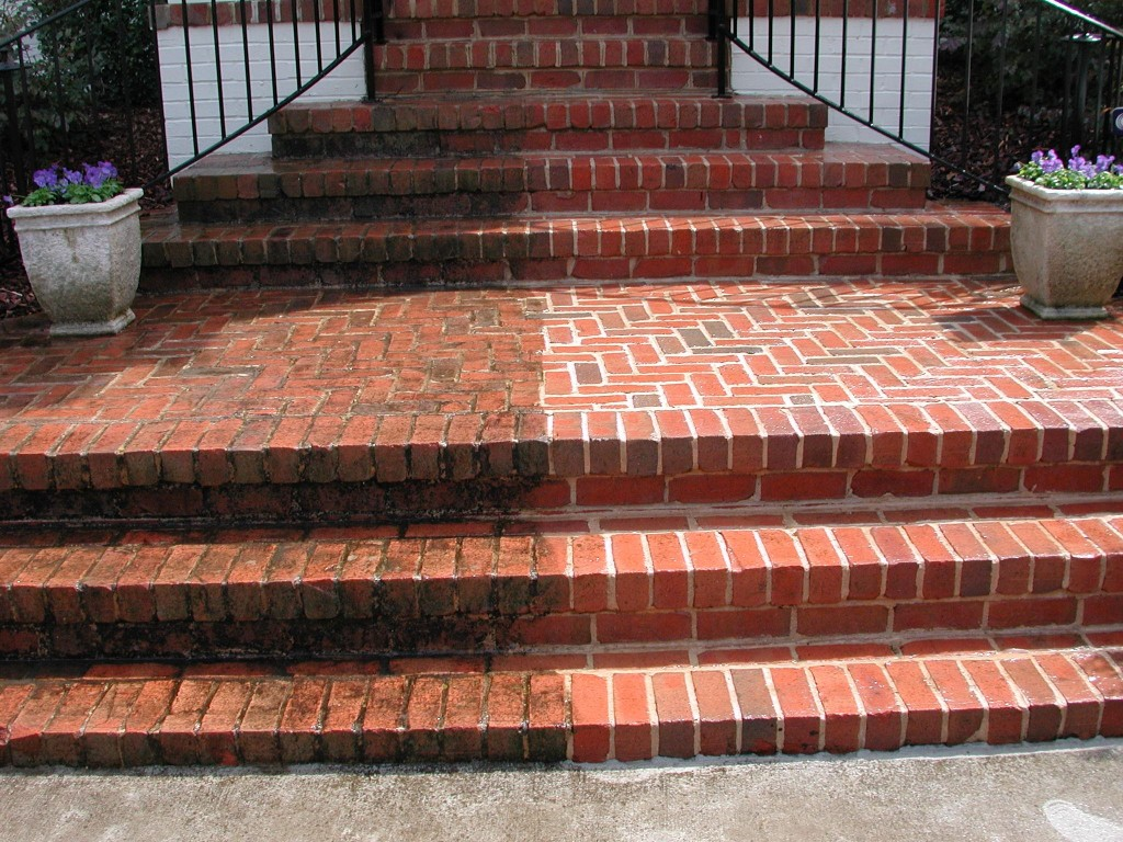 Brick vector picture brick stain - Sandblasting house exterior cost ...