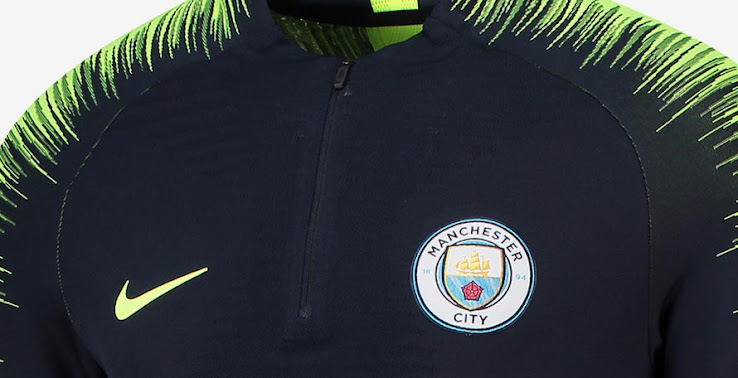 100% authentic db880 33ad2 Nike Manchester City 18-19 Training Kit Released - Footy ...