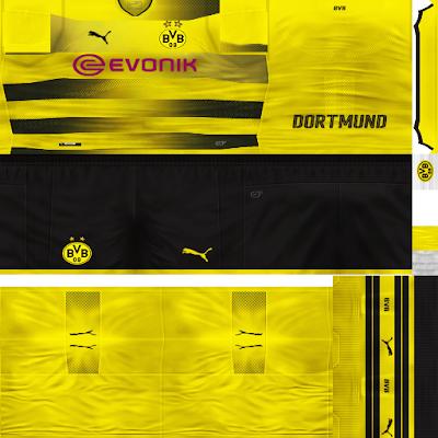 PES 6 Bundesliga FULL Kitpack Season 2017/2018