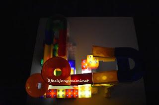 Kugelbahn für Lego