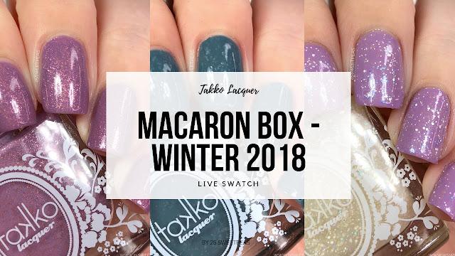 Takko Lacquer Macaron Box Winter 2018