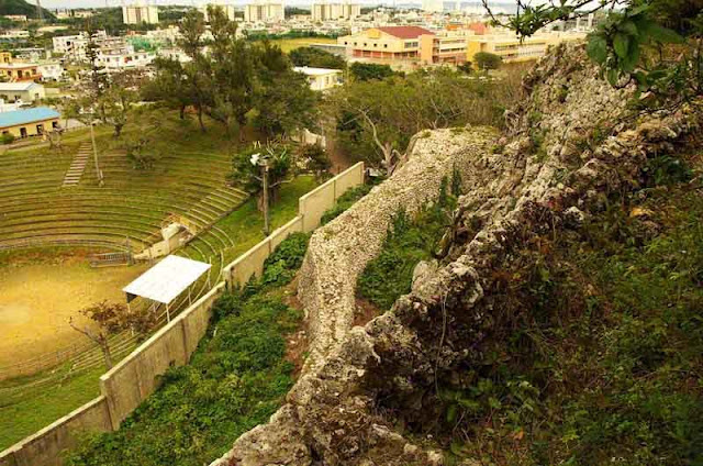 scene from top of castle walls