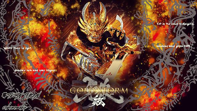 Garo Gold Storm Sub Indo