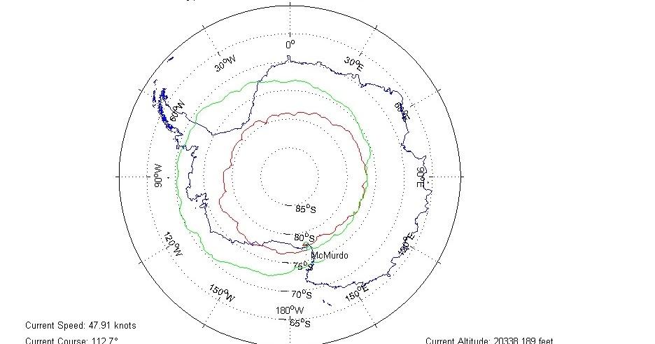 Rick Potvin's Virtual Circumnavigation of Antarctica to