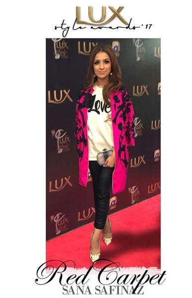 Designer Dresses Sana Safinaz Chateau Marmont for PSFW 2017