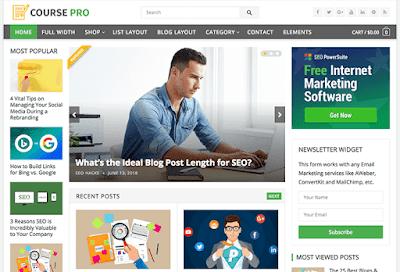 Course WordPress Theme
